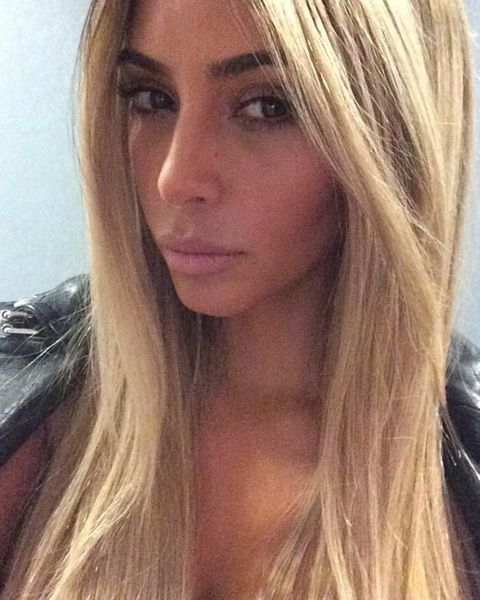 18,000 Instagram Comments On Kim's Blonde -- The Cut