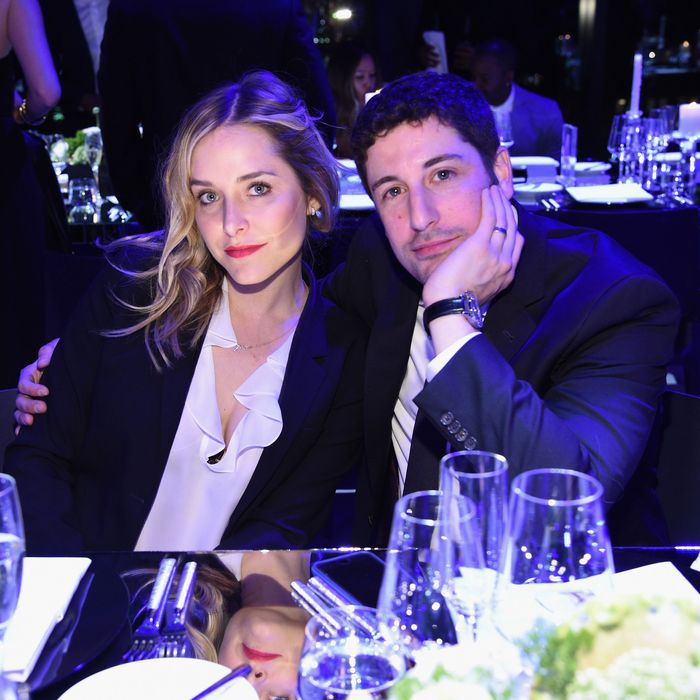 Jenny Mollen and Jason Biggs.