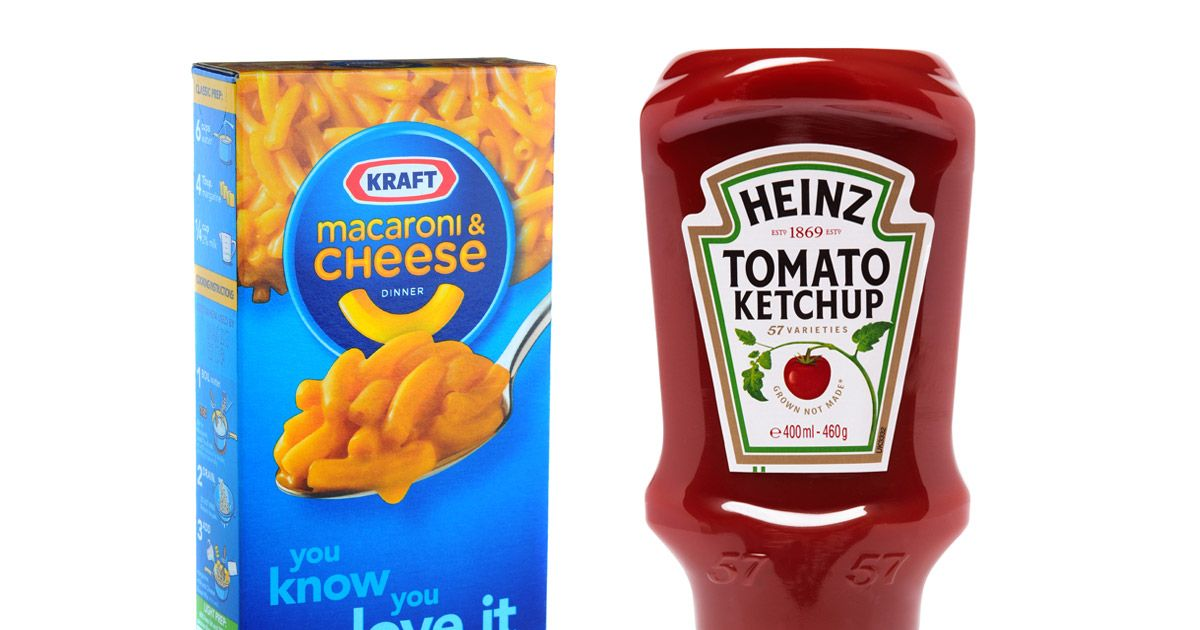 kraft and heinz will merge to make one giant 40 billion. Black Bedroom Furniture Sets. Home Design Ideas