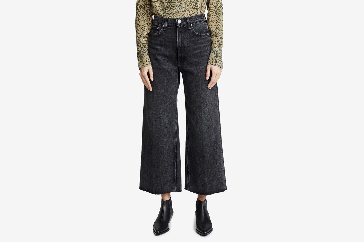 Rag & Bone Haru Wide Leg Jeans
