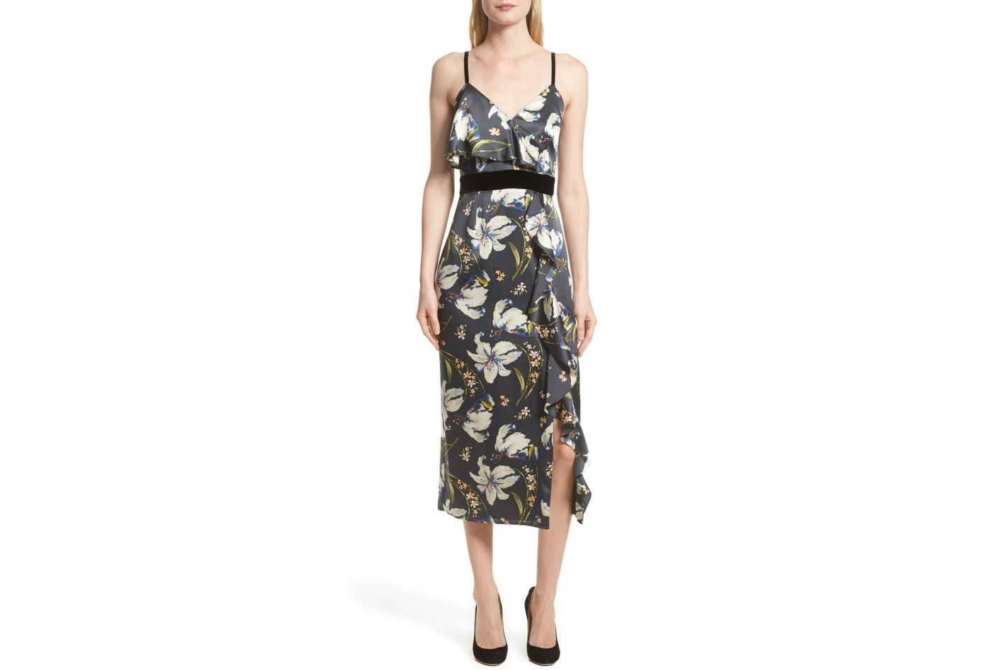 Cinq a Sept Leena Floral Print Dress