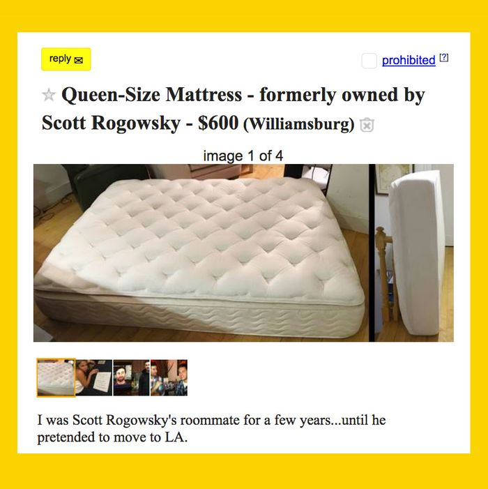 Hq Scott S Old Mattress Is For On
