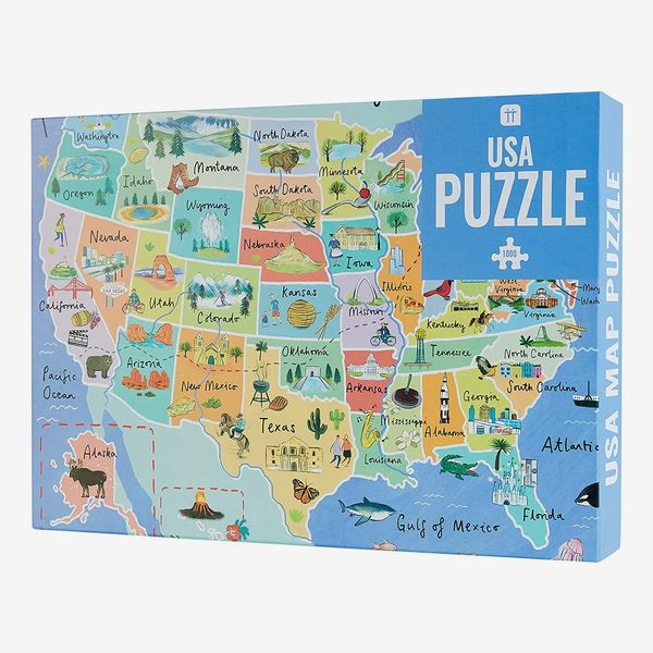 Talking Tables 1000 Piece American Landmarks Puzzle