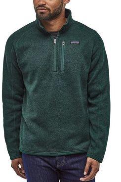 Patagonia Men's Better Sweater 1/4-Zip Fleece Jacket (Piki Green)