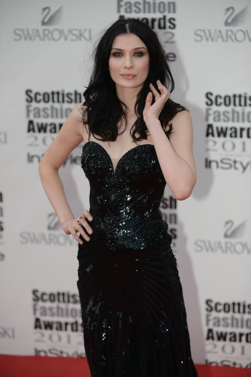 Guests are pictured at the arrivals of the Scottish Fashion Awards 2012, the event in association with InStyle was held at the Clyde Auditorium in Glasgow.