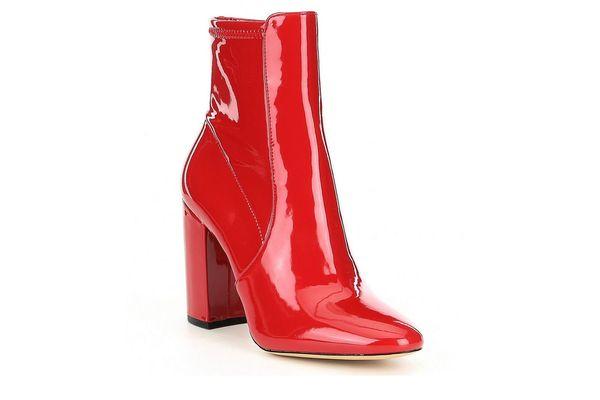 ALDO Aurella Patent Block Heel Booties