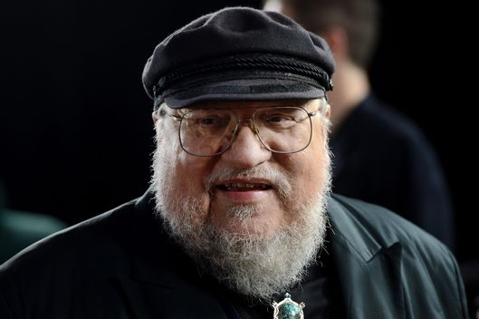 "Co-Executive Producer George R.R. Martin arrives at the premiere of HBO's ""Game Of Thrones"" Season 3 at TCL Chinese Theatre on March 18, 2013 in Hollywood, California."