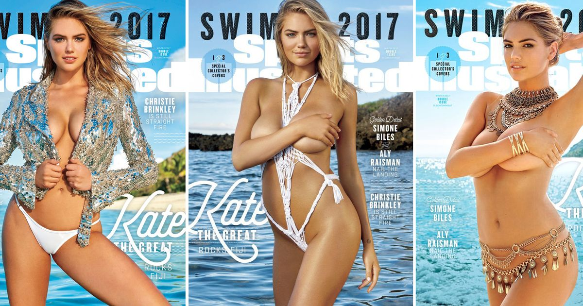 5fc7a9d637 Kate Upton Gets 3 Sports Illustrated Swimsuit Issue Covers