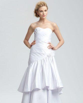 A Christian Siriano bridal gown.
