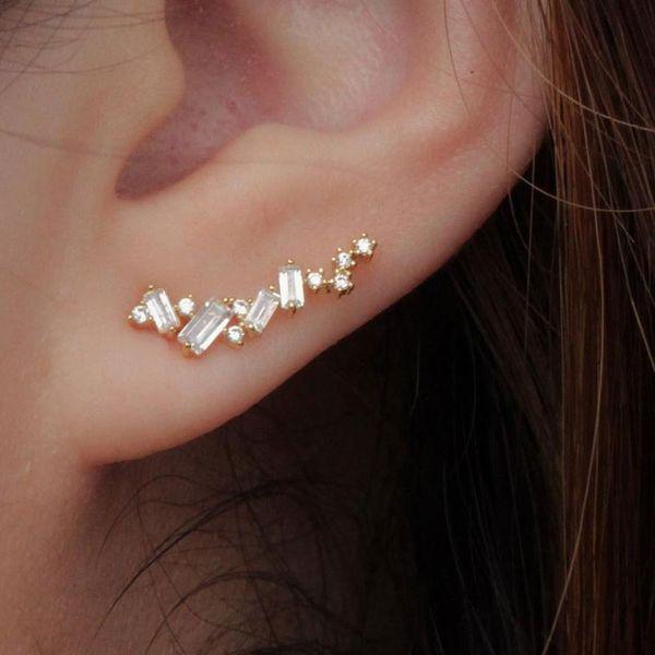 Mily's Design Minimalist Spring Bloom Ear Crawlers