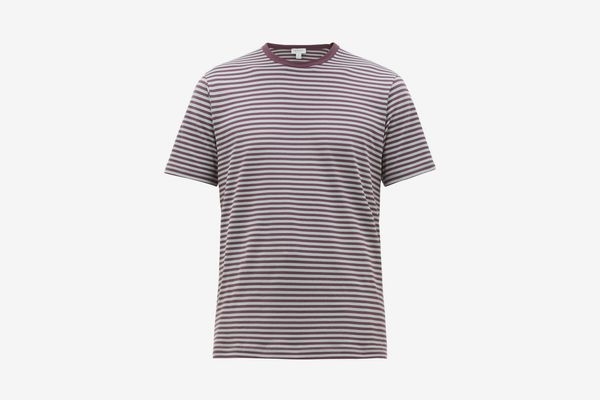 Sunspel Men's Breton-Stripe Cotton-Jersey T-Shirt