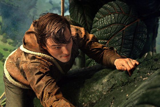 "NICHOLAS HOULT as Jack in New Line Cinema's and Legendary Pictures' action adventure ""JACK THE GIANT SLAYER,"" a Warner Bros. Pictures release."