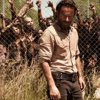Rick Grimes (Andrew Lincoln) - The Walking Dead - Season 4 _ Gallery - Photo Credit: Frank Ockenfels 3/AMC