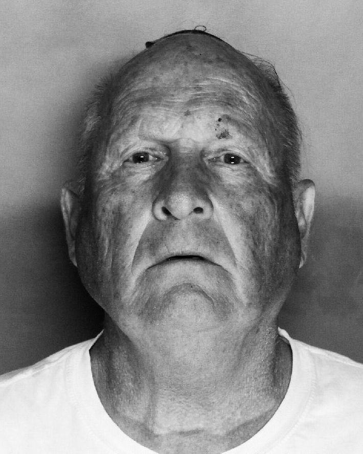 Joseph James DeAngelo's mugshot.