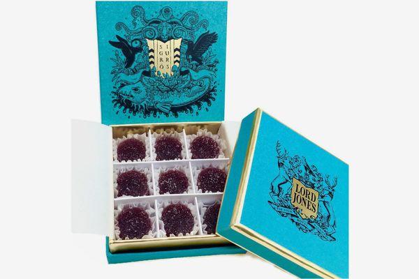 Lord Jones x Sigur Rós Limited Edition All Natural Sigurberry High CBD Gumdrops