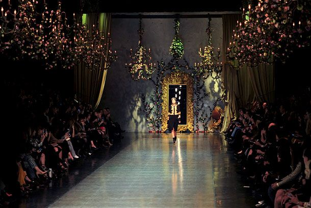 The Best Fashion Week Set Design The Cut