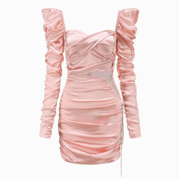 Nana Jacqueline Pink Bonnie Dress