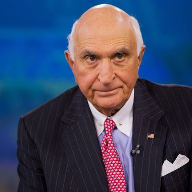 "Kenneth ""Ken"" Langone, co-founder of Home Depot Inc., listens during a Bloomberg Television interview in New York, U.S., on Friday, April 26, 2013. Langone said that Jamie Dimon is one of the best U.S. business leaders and should keep his dual roles as JPMorgan Chase & Co. Chairman and Chief Executive Officer."