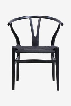 Tomile Wishbone Solid Wood Dining Chair