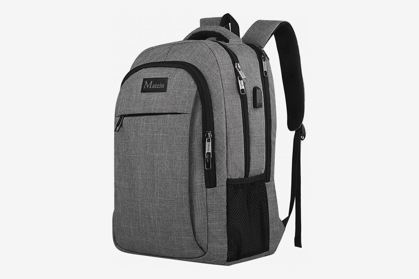 b858124e56a4 Matein Travel Laptop Backpack