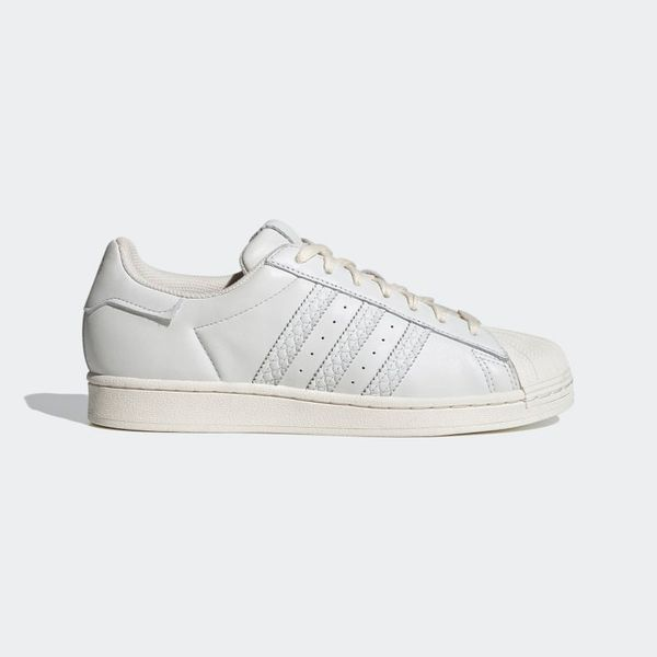 Adidas Superstar Shoes (Non-Dyed/Chalk White)