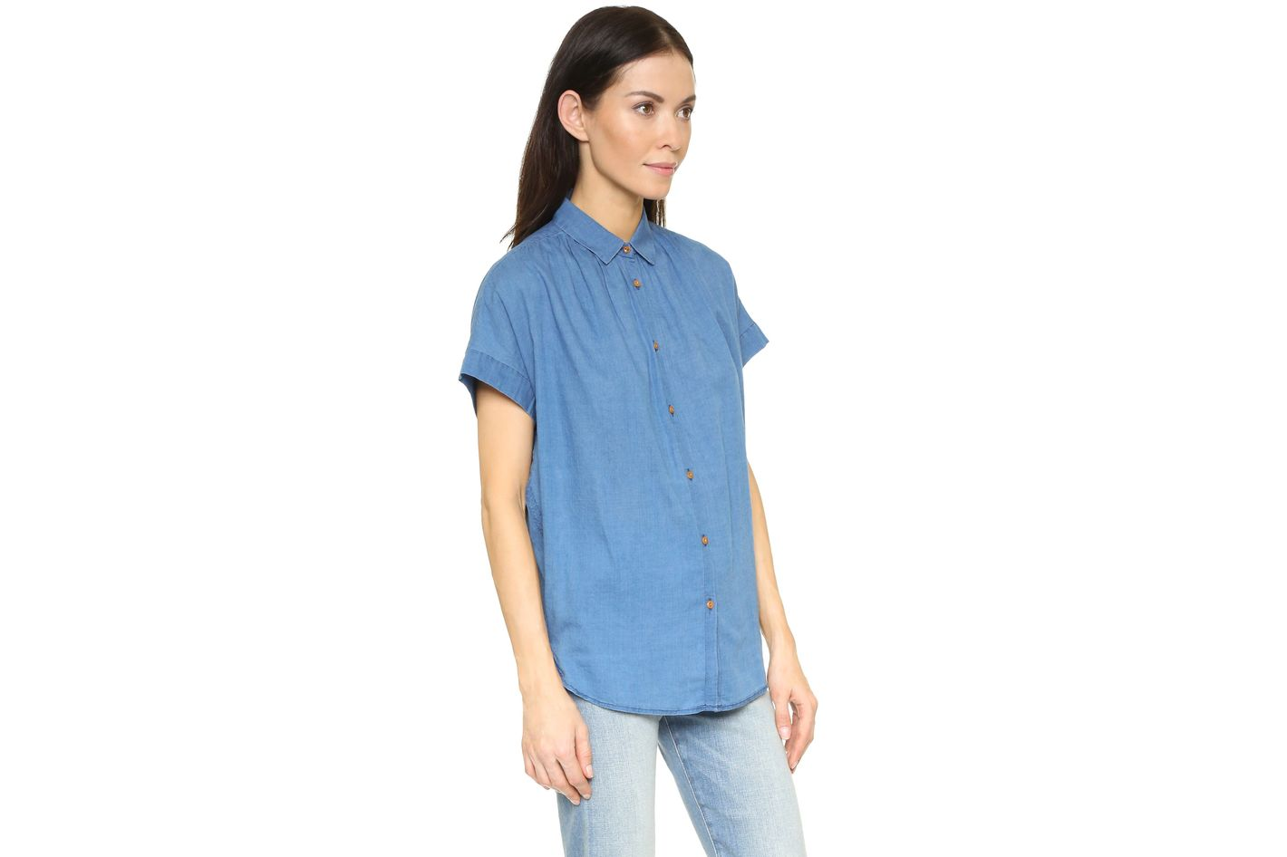 Madewell Boxy Side-Seam Top