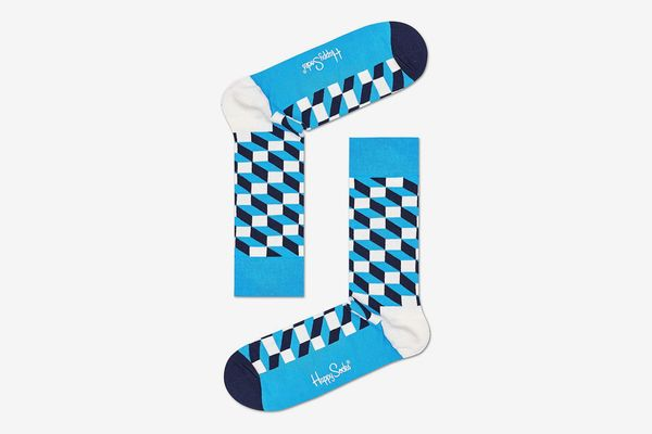 Happy Socks Optic Blue Socks