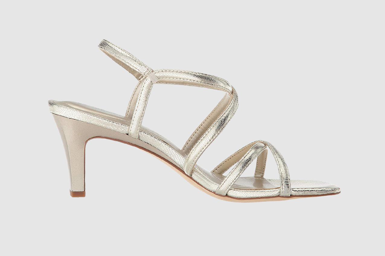 Bandolino Womens Obexx Fabric Open Toe Special Occasion Strappy Sandals