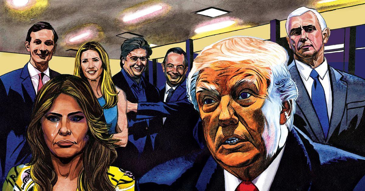 Michael Wolffu0027s U0027Fire And Furyu0027: Inside Trumpu0027s White House
