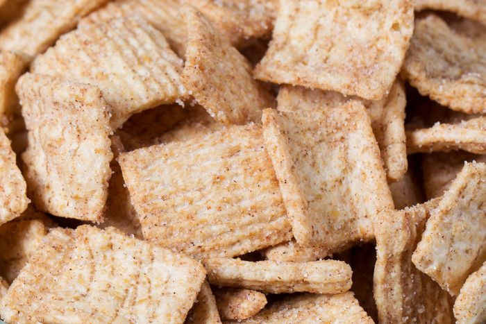 Close-up of Cinnamon Toast Crunch