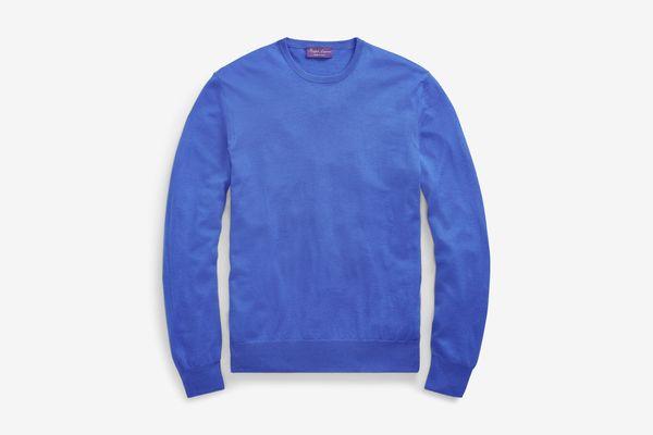 Purple Label Cashmere Crewneck Sweater