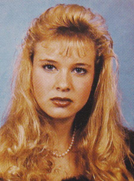 Heres Oscar Winner Renee Zellweger Sporting Classic 80s Looks In Her High School Yearbook Photos