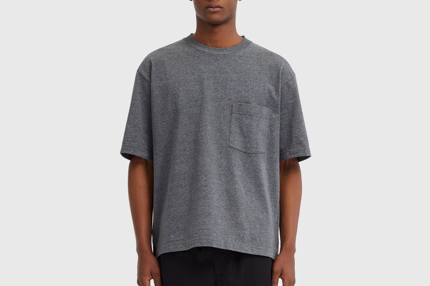 Uniqlo Men's U Oversize Crewneck Short Sleeve T-shirt