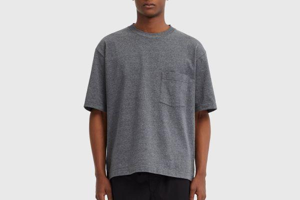 Uniqlo Men's U Oversize Crewneck Short Sleeve T-shirt