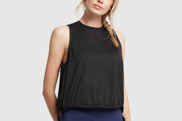 G. Sport Mesh Tank with Side Slits