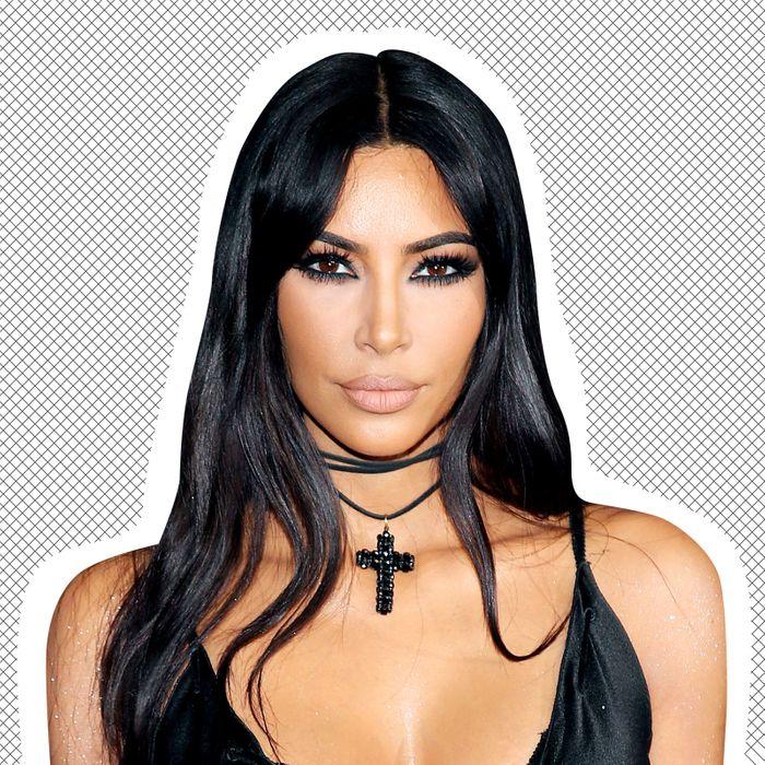 fa470f1a7fe3e Kim Kardashian West Got Bangs in 2019