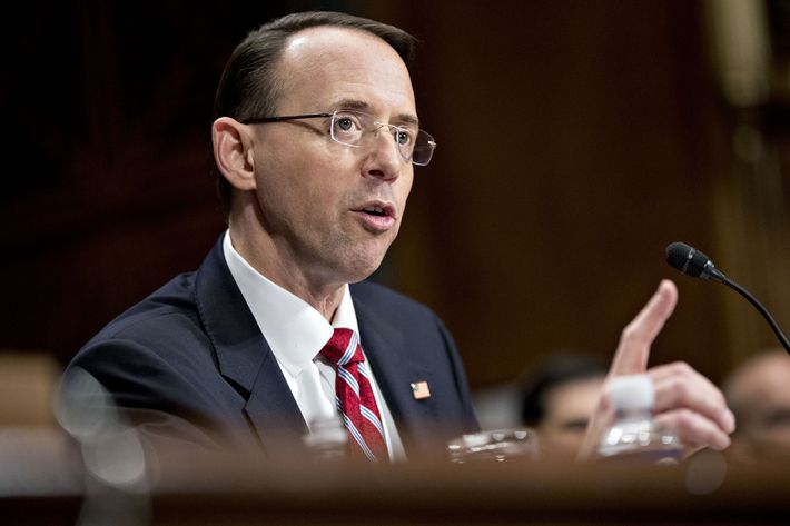 deputy attorney general rod rosenstein photo andrew harrerbloomberg via getty images - Attorney General Job Description