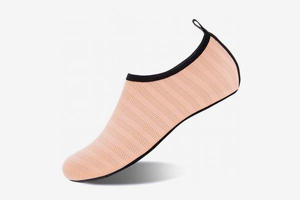 WateLves Womens and Mens Kids Water Shoes Barefoot Quick-Dry Aqua Socks