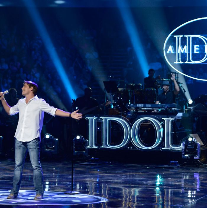AMERICAN IDOL: Johnny Keyser performs in the Sudden Death Round of AMERICAN IDOL airing Thursday, Feb. 21 (8:00-10:00PM ET/PT) on FOX.