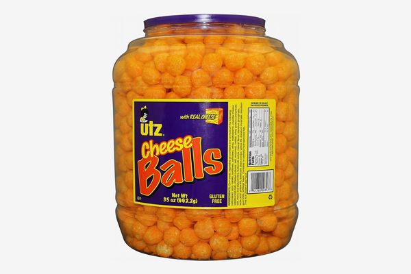 UTZ Cheese Balls, 35 Oz. Barrel