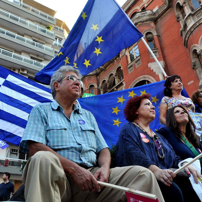 GREECE-ECONOMY-POLITICS-EU-PROTEST