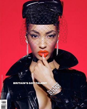 Jourdan Dunn for <em>Ponystep</em> magazine.