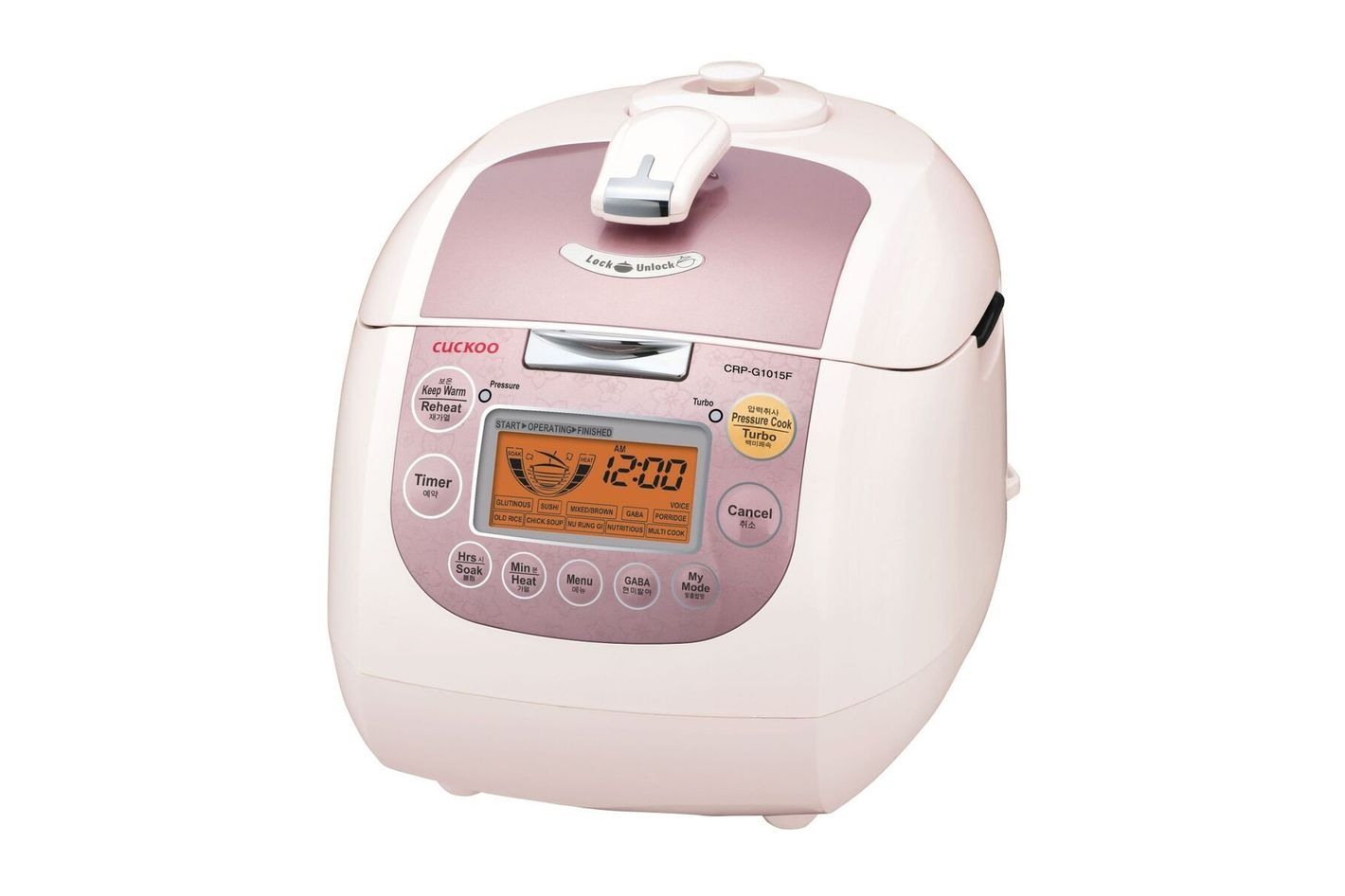 Cuckoo CRP-G1015F 10 Cup Electric Pressure Rice Cooker
