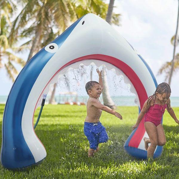 West Elm Inflatable Shark Sprinkler