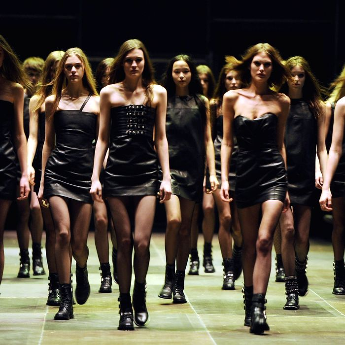 Saint Laurent's finale.
