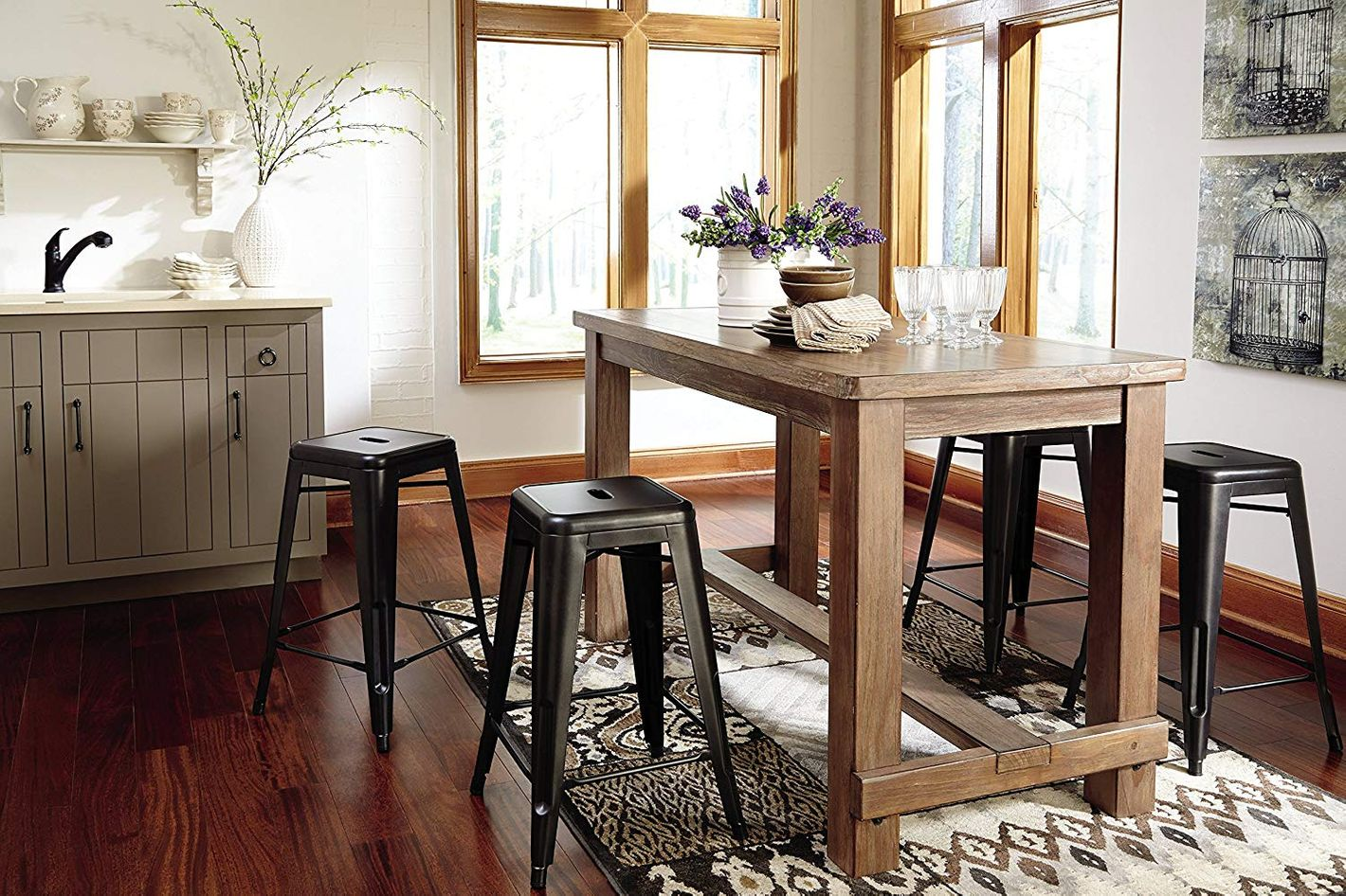 Ashley Furniture Signature Design Pinnadel Counter Dining Table