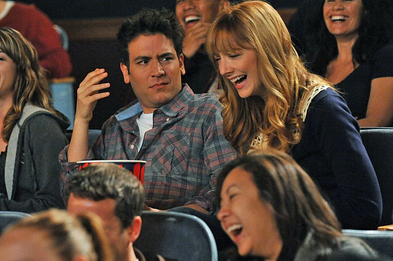 """The Wedding Bride"" --  Ted (Josh Radnor) takes a date, Royce (Judy Greer), to see a new hit movie, on HOW I MET YOUR MOTHER, Monday, May 17 (8:00-8:30 PM, ET/PT) on the CBS Television Network. Photo: Eric McCandless/FOX ?'??2010 Fox Television. All Rights Reserved."