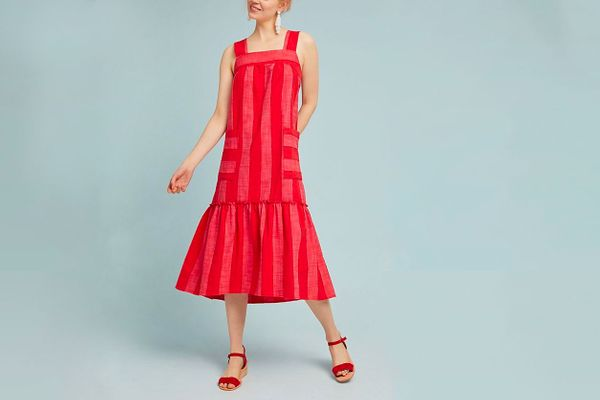 Maeve Tonal Striped Dress