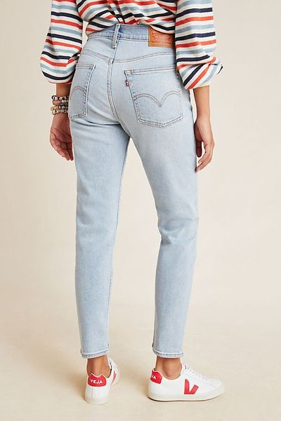 Levi's Wedgie Icon Ultra High-Rise Straight Jeans