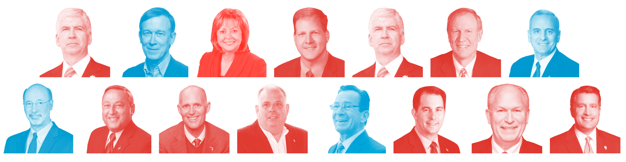 What's in Play in the 2018 Governors' Races